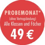 Probemonat bei back2school in Essen Altendorf
